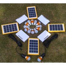Solar-Akku-Ladegerät Lade-System