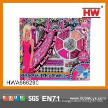Горячие продажи моды красоты играть Set Игрушка ювелирные изделия Установить игрушка ICTI завод