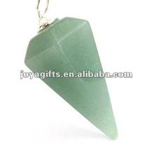 Aventurina verde Péndulo de piedra