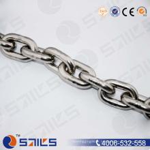 Chaîne de matériel d'acier inoxydable DIN766
