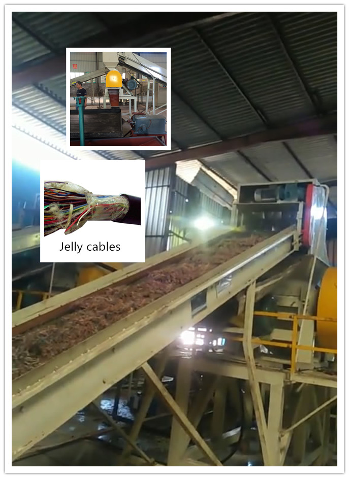 Petroleum Jelly and Telecommunication Copper Cable recycling solution