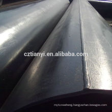 China supplier sales 3pe coated antiseptic erw steel pipe