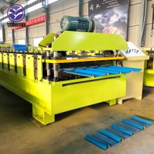 Hoge snelheid stalen dak Roll Froming Machine