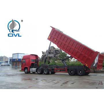 3 as Belakang dump semi trailer