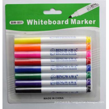 Colorful Whiteboard Marker for School Stationery