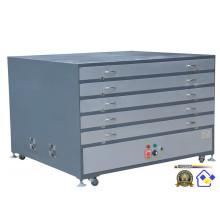 Armário de secagem do sistema de aquecimento Tdp-70100 elétrico para o quadro de impressão da tela