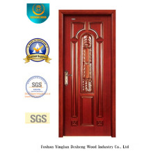 Classic Style Wood Door with Carving for MID East