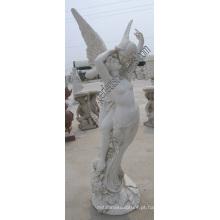 Pedra mármore escultura estátuas para jardim escultura (SY-X1252)