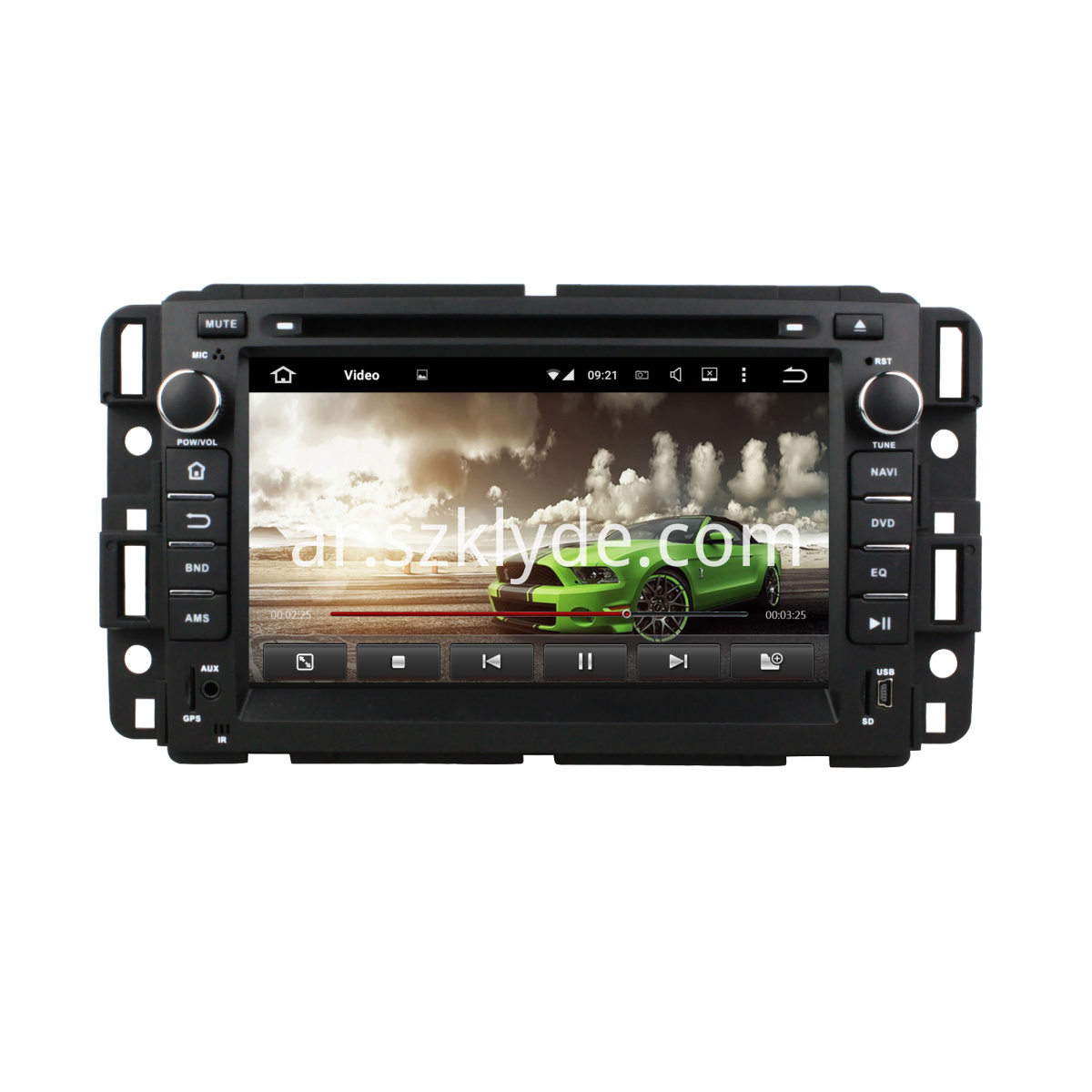 android car DVD for GMC Yukon/Tahoe 2007-2012