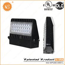 China Fábrica UL Dlc IP65 Outdoor 40W Mini LED Wall Packs Luzes