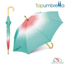 2018 дешевые новые дизайнерские инновации зонтик деревянный зонтик