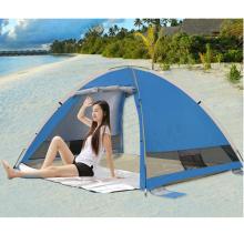 Outdoor-Strand automatische Geschwindigkeit 3-4 Personen öffnen schnell Angeln Zelt