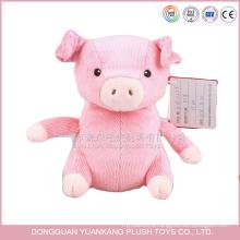 China factory custom cute plush animal toys pig wholesale