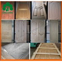 Chêne / Sapele / Ash HDF Veneer Door Skin