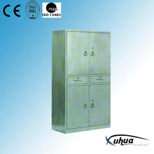 Stainless Steel Hospital Medical Appliance Cupboard (U-17)