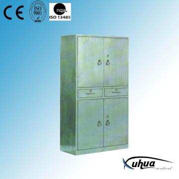 Шкаф медицинского шкафа из нержавеющей стали (U-17)