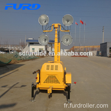 Telescopic Lighting Towers With Diverse Generator Telescopic Lighting Towers With Diverse Generator FZMTC-400B