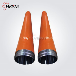 Bagian Pompa Beton Schwing Menyampaikan Delivery Cylinder