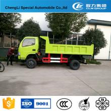 Personnalisé Dongfeng 4 * 2 Mini Camion à benne basculante à vendre