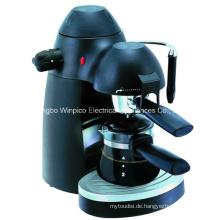 Elektrische 4-Tasse Dampf Espresso und Cappuccino Kaffeemaschine