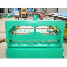 Piso de construcción Metal Deck Roll Forming Machine