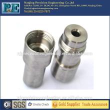 Precisión de aleación de tungsteno CNC girando pieza de acoplamiento