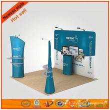 tissu long 3d stand d'exposition design fabriqué en Chine