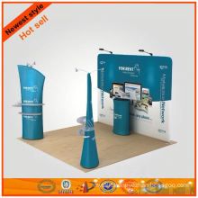 fabric long 3d exhibition stand design made in China