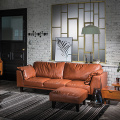 Chesterfield Leather 321 Seater Lounge Sectional Sofa