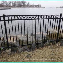 puertas y vallas de diseño venta caliente rejilla de aluminio diseño de la puerta cercas industriales