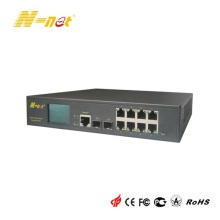 8 Port PoE Gigabit Switch verwaltet
