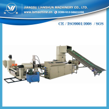 Línea de granulación de película de PE de aplicación de compactador