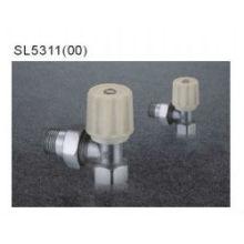 Ángulo de la válvula de radiador de latón en China