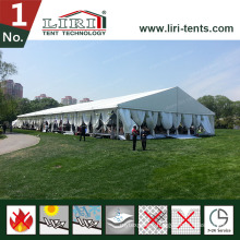 Rainproof Marquee 25m X 40m Tent for Marriage Ceremony with Decoration