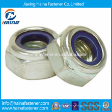 In Stock Made In China DIN982 Stainless steel Hexagon Nylock Nuts