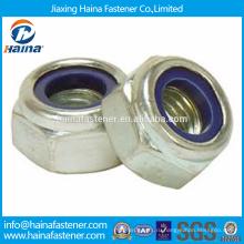 В наличии Сделано в Китае DIN982 Нержавеющая сталь Шестигранные гайки