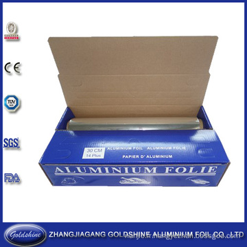 Type de papier d'aluminium de ménage de petit pain pour l'emballage alimentaire