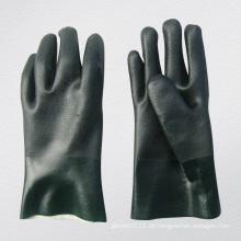 Rough Finish PVC beschichteten Handschuh mit String Knit Liner-5130