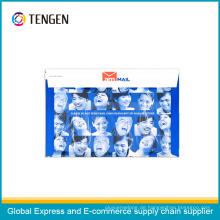 Logistik Paket Karton Umschlag für Dokumente Verpackung