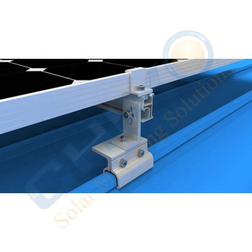Solar tin roof clamp mounting rack for klip lok pv roof