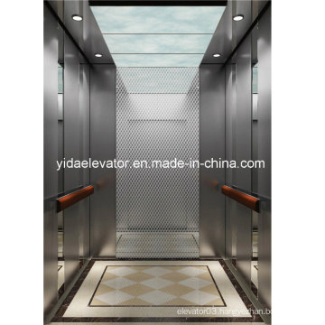 Passenger Lift with Brushed Stainless Steel