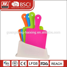 Food grade PP plastic with base kitchen cutting mat