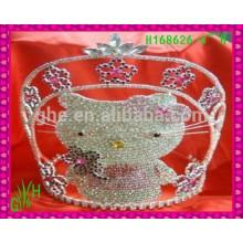 New Designs Rhinestone Crown, 2015 fashion crown