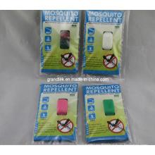 Pulsera de mosquitos de silicona personalizada de venta barata