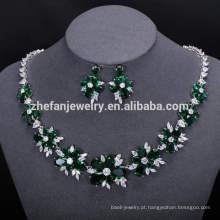 Grânulos africanos colar de noiva mulheres vestido de noiva acessórios conjuntos de jóias longas