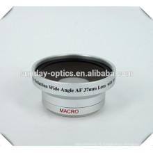 Lentille de caméra grand angle 37mm, UV49,0.45X, pour appareil photo / caméscope