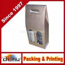 Caixas de presente do vinho do cartão rígido (2335)