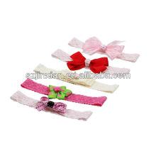полиэстер розовый маленький цветок ленты