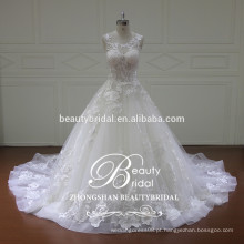 XF16069 guangzhou alibaba vestido de noiva sem escova