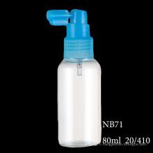 Bouteille réutilisable en plastique liquide de bouteille de jet de pompe cosmétique Diverses tailles (NB71)